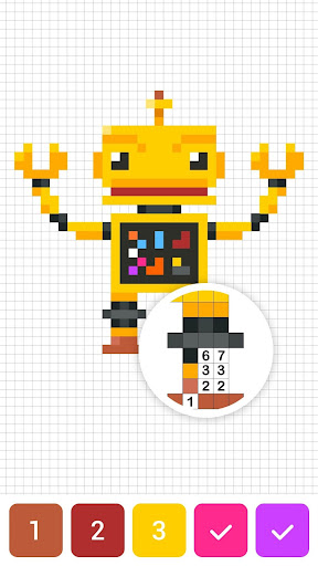 Draw.ly - Color by Number Pixel Art Magic Coloring 3.0.8 screenshots 5