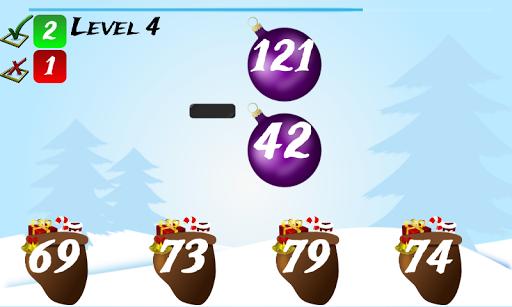 Christmas Games Math Santa 2.2 screenshots 8