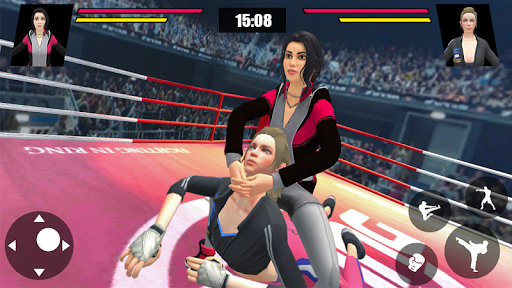 Women Wrestling Ring Battle: Ultimate action pack 7 screenshots 1