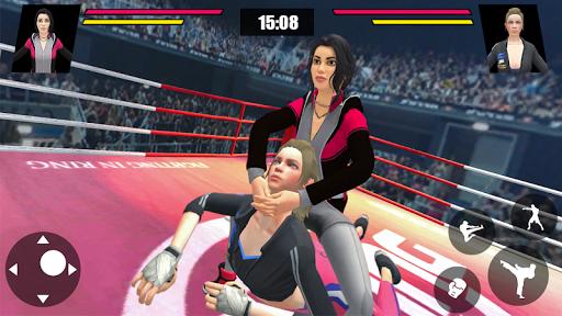 Women Wrestling Ring Battle: Ultimate action pack 7 pic 1