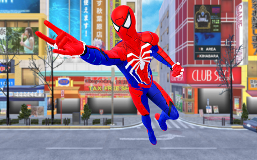 Spider Hero Fight Gangster Rope Battle Crime City apklade screenshots 1