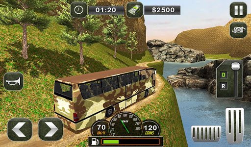 Army Bus Driving 2019 - Military Coach Transporter 1.0.9 screenshots 14