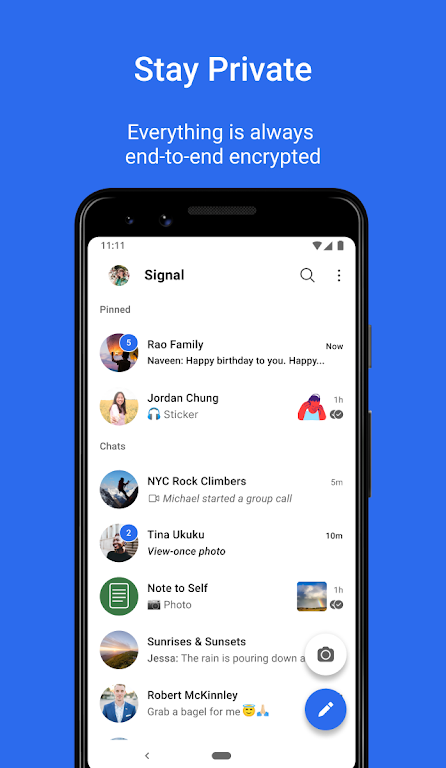 Signal Private Messenger  poster 0