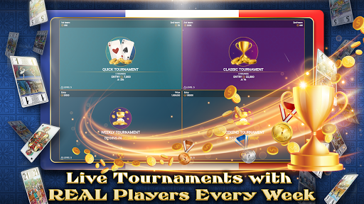 VIP Tarot - Free French Tarot Online Card Game 3.7.5.30 screenshots 5