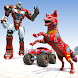 Wild Fox Transform Robot Games-Monster Truck Robot