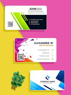 Business Card Maker, Visiting Card Maker 2021