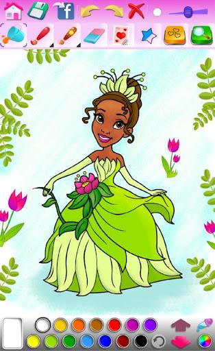 Princess Coloring Game screenshots 23