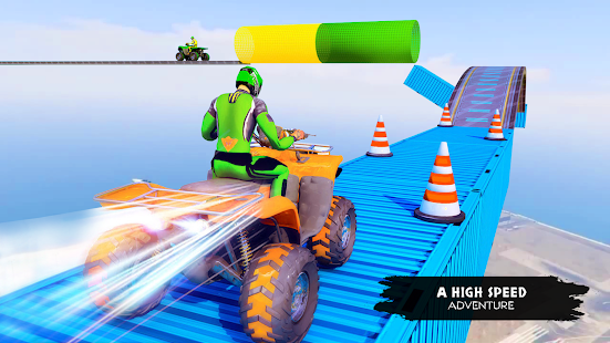 ATV Quad Bike Simulator 2021: Quad stunts Bike 4x4 2.0 screenshots 1