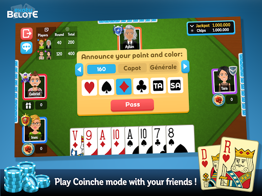 Multiplayer Belote & Coinche 6.9.4 screenshots 8
