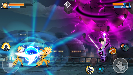 Stickman Ninja Fight - Shinobi Epic Battle 1.7 screenshots 1