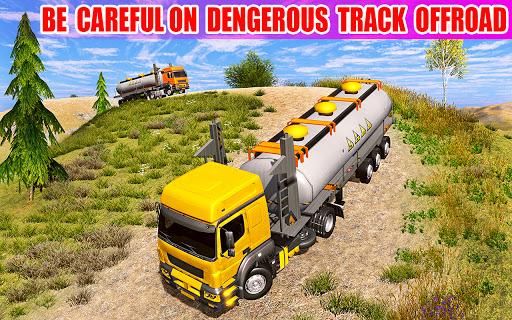 Offroad Oil Tanker Truck Simulator: Driving Games  screenshots 1