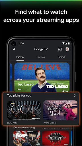 Google TV  Screenshots 2