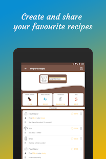 Brew Timer : Find Coffee Recipes&Make Great Coffee Screenshot