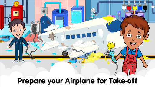 My Airport Town: Kids City Airplane Games for Free 1.6.1 Screenshots 15