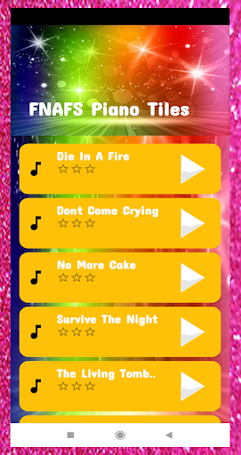 Fnafs Piano Tiles screenshots 1