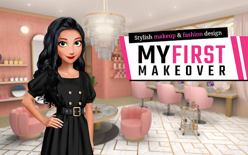 My First Makeover: Stylish makeup & fashion design screenshots 19