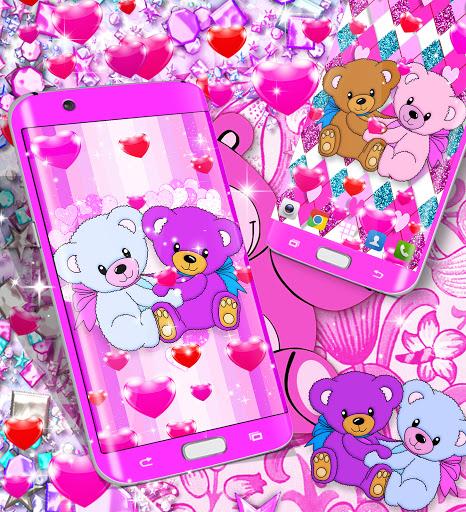 Teddy bear live wallpaper apktram screenshots 8