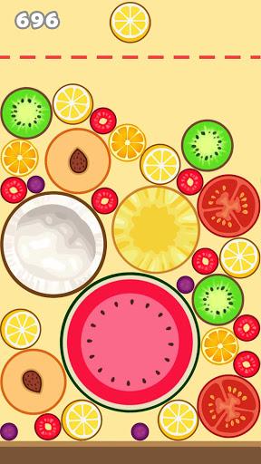 Fruit Merge Mania - Watermelon Merging Game 2021 apkdebit screenshots 1