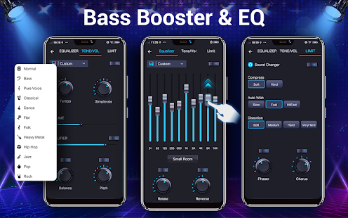 Music player - 10 bands equalizer Audio player Screenshot