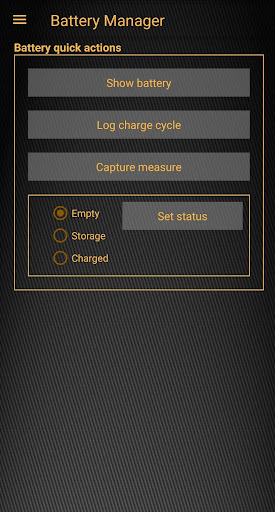 Battery Manager - Manage your RC model batteries 2.14.1 screenshots 1