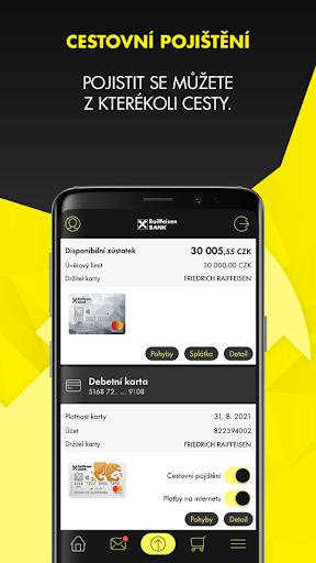 Mobilnu00ed eKonto Raiffeisenbank 3.9.2 Screenshots 9