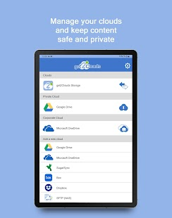 get2Clouds - Privacy app Screenshot