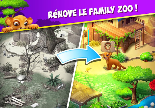 Family Zoo: The Story APK MOD – ressources Illimitées (Astuce) screenshots hack proof 1