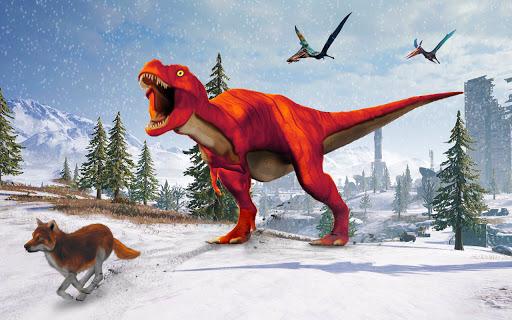 Angry Dinosaur Attack Dinosaur Rampage Games android2mod screenshots 7