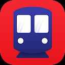 台湾MRTのルートマップ 運賃と移動時間