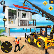 Beach House Builder Construction Games 2021