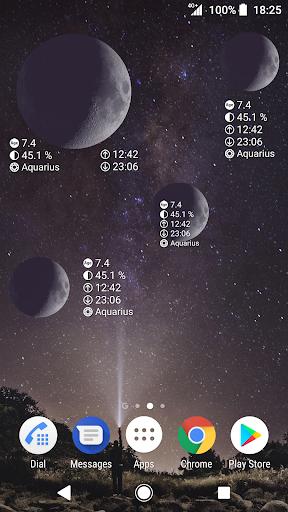 Simple Moon Phase Calendar 1.2.07 Screenshots 4