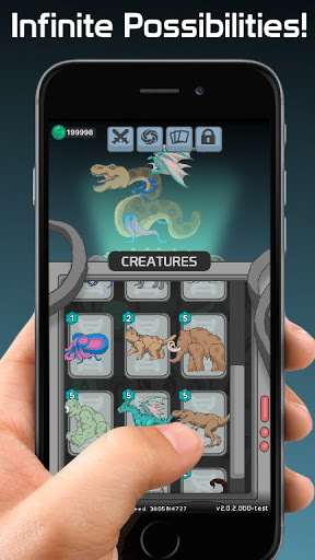 Apeirozoic: Strategy Evolution - Mutant CCG  screenshots 7