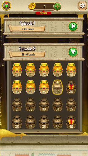 Cleopatra's Jewels - Ancient Match 3 Puzzle Games 1.2.2 screenshots 6