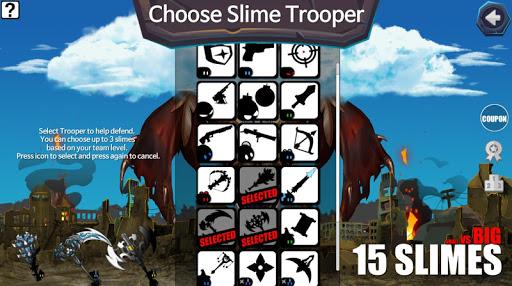 15 Slimes : Offline Action Defence screenshots 5