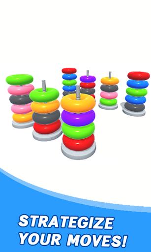 Color Sort Puzzle: Color Hoop Stack Puzzle 1.0.11 screenshots 4