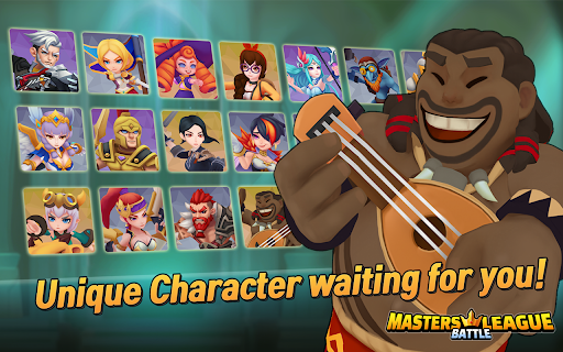 Masters Battle League 5v5 : Legend MOBA PvPTrainer modavailable screenshots 11