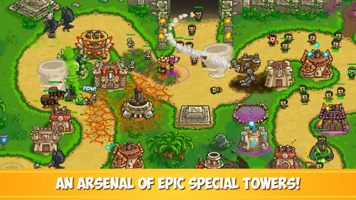 Kingdom Rush Frontiers - Tower Defense Game  screenshots 4