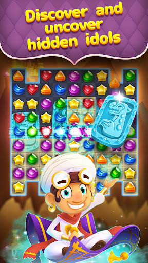 Genies & Gems - Jewel & Gem Matching Adventure 62.74.104.11161800 Screenshots 3
