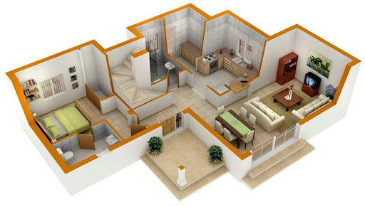 3D Home Plan Design For PC Windows (7, 8, 10, 10X) & Mac Computer Image Number- 6
