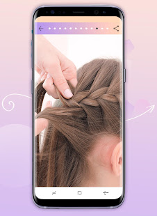 Hairstyles step by step 1.24.1.0 Screenshots 6