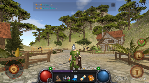 World Of Rest: Online RPG modiapk screenshots 1