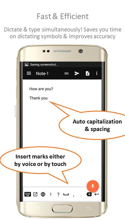 Speechnotes - Speech To Text Notepad  poster 1