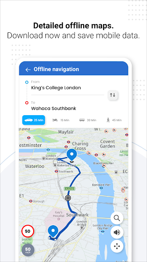 GPS Live Navigation, Maps, Directions and Explore android2mod screenshots 3