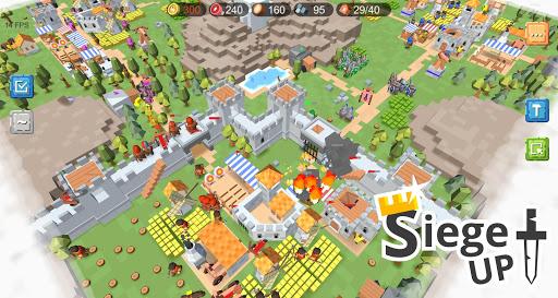 RTS Siege Up! - Medieval Warfare Strategy Offline 1.0.285 Screenshots 6