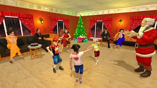 Christmas Flying Santa Gift Delivery apkdebit screenshots 11