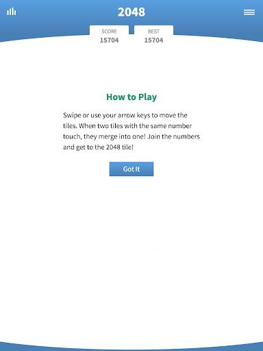 2048 Classic u00b7 Swipe Game  screenshots 6