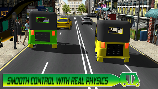 Modern auto tuk tuk Real rickshaw game 2021 1.8 screenshots 8