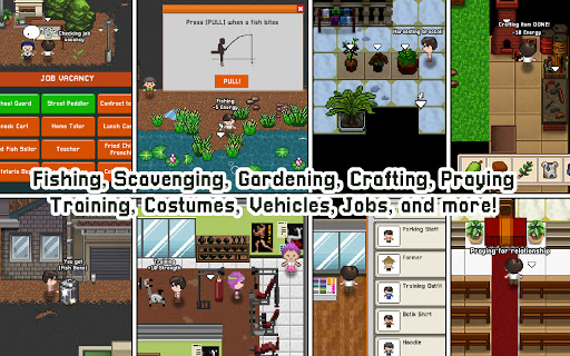 Citampi Stories: Offline Love and Life Sim RPG apkpoly screenshots 11