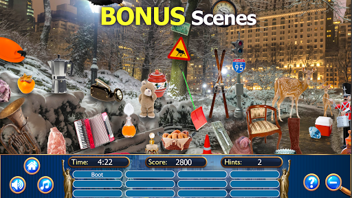 Hidden Objects New York City Puzzle Object Game  screenshots 21