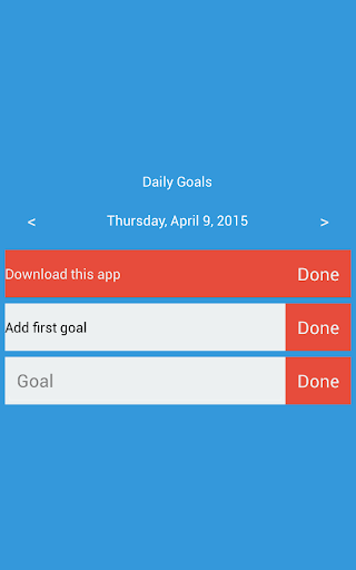 Daily Goals For PC Windows (7, 8, 10, 10X) & Mac Computer Image Number- 5